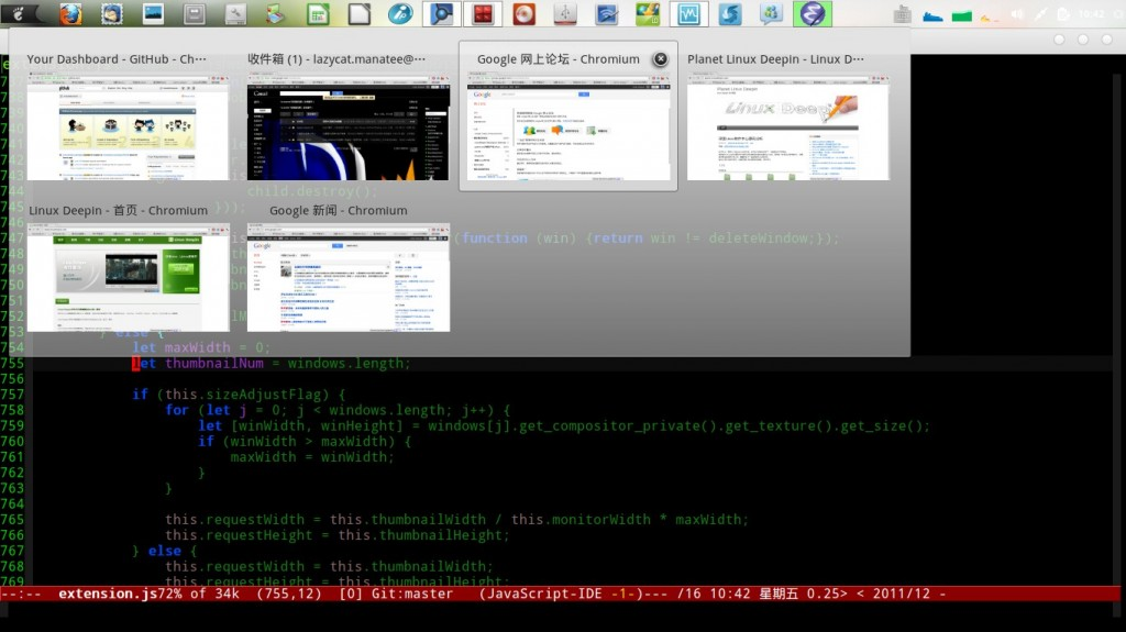 LD 11.12 Dock 功能基本完善