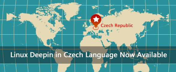 Czech Language installation image for Linux Deepin 2013 is available