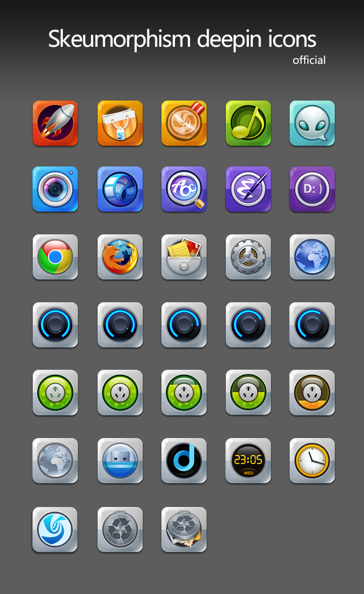 A decisive transformation from Deepin Icon
