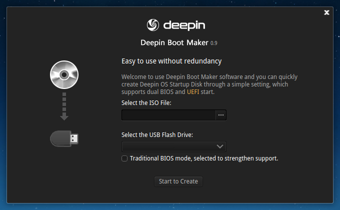 Little updates and questions answered of Deepin Boot Maker