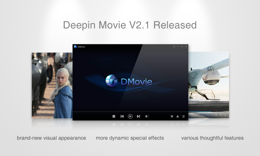 Deepin Movie V2.1 Released——a Brand-new Experience