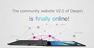 The community website V2.0 of Deepin Technology is finally online!