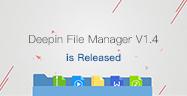 Deepin File Manager V1.4 is Released