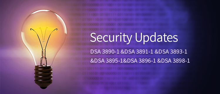 Security Updates (DSA 3890-1 &DSA 3891-1 &DSA 3893-1 &DSA 3895-1&DSA 3896-1 &DSA 3898-1)