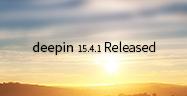 Релиз Deepin 15.4.1