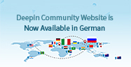 Die Deepin-Community-Website ist jetzt auf deutsch verfügbar