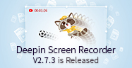 Deepin Ekran Kaydedici V2.7.3 Yayınlandı