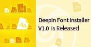 DeepinFontInstallerV1.0hasidoliberado-personalicesu bibliotecadefuentes