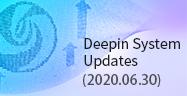 Deepin System Updates(2020.06.30)