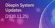 Deepin System Updates (2020.11.25)