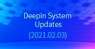Deepin System Updates (2021.02.03)