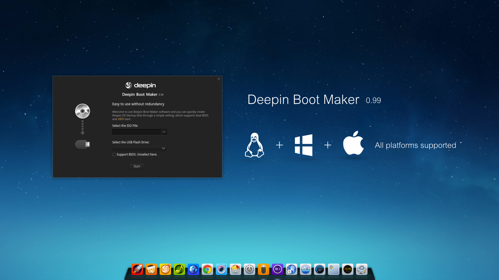 Deepin Boot Maker 0.99 Version Released!