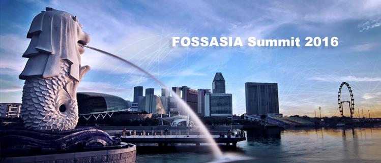 FOSSASIA Summit 2016 Sharing